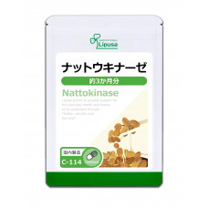 Наттокиназа C-114 на 3 месяца Lipusa