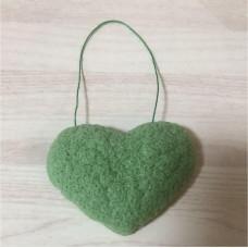 Губка-спонж Конняку с зелёным чаем Lucky Wink