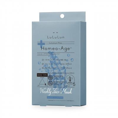 Набор японских масок для лица с экстрактом морских водорослей - Lululun Plus Гомеостаз из Франции