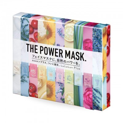 Набор тканевых масок для лица LuLuLun Plus