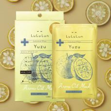 Арома-маски с эфирным маслом Юдзу - Lululun Plus Помощь при стрессе