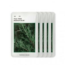 Смягчающая маска с чайным деревом Lululun Organic