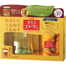 Амино коллаген Премиум Amino Collagen Premium Meiji с контейнером