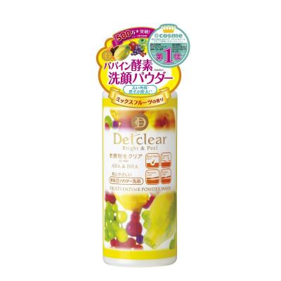 Японская энзимная пудра для умывания лица Detclear Bright and Peel