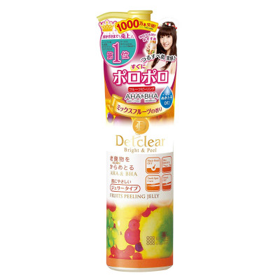 Японский пилинг-скатка с фруктовыми кислотами Detclear Bright and Peel