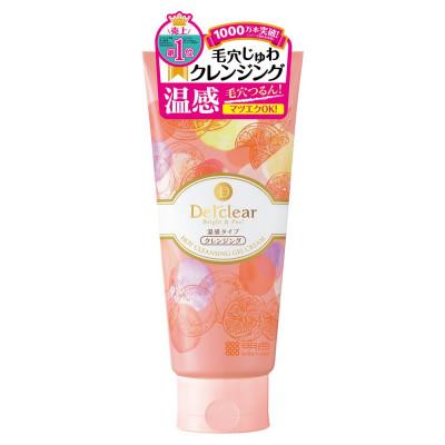 Японский разогревающий очищающий крем-гель Detclear Bright and Peel