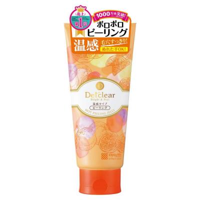 Японский разогревающий пилинг желе Detclear Bright and Peel