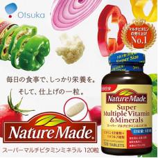 Комплекс витаминов и минералов Nature Made на 4 месяца