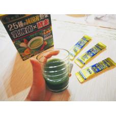 Аодзиру из ячменя с 25 видами домашних овощей и лактобактериями