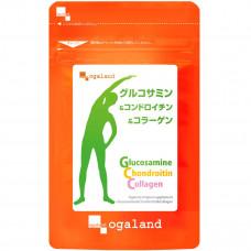 Глюкозамин, хондроитин и коллаген Ogaland