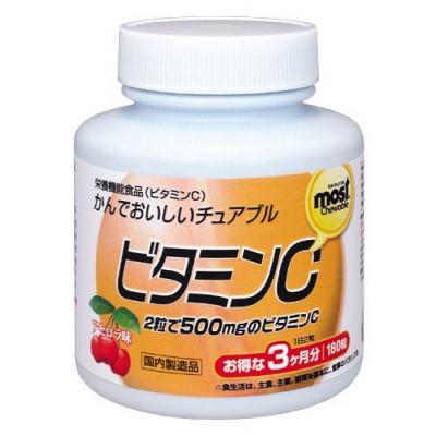 Японский жевательный витамин С для всей семьи