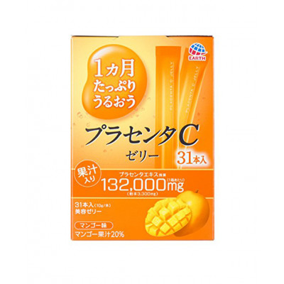 Японское плацентарное желе с экстрактом ласточкиного гнезда Placenta С Jelly Earth Pharmaceutical