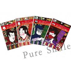 Набор подтягивающих масок для лица Sengoku Art Mask Pure Smile