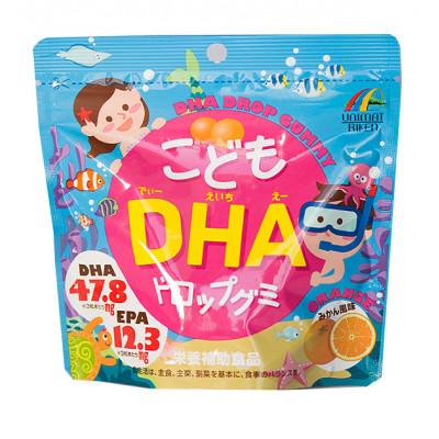 Японские ОМЕГА-3 для детей от Riken с мандариновым вкусом