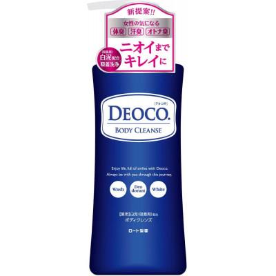 Японский гель для душа от возрастного запаха Deoco ROHTO