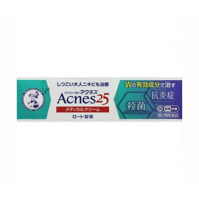 Лечебный крем против акне Mentholatum Acnes 25 Rohto – усиленная формула