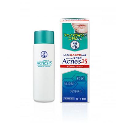 Лечебный лосьон против акне Mentholatum Acnes 25 Medical Lotion Rohto