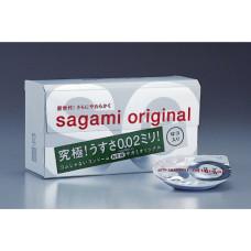 Полиуретановые мягкие презервативы Sagami Original 0.02