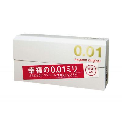 Японские ультратонкие презервативы Sagami Original 0.01