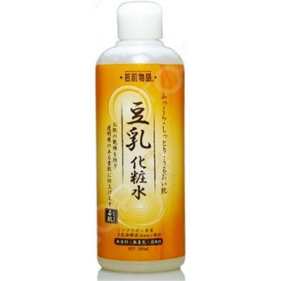 Японский питательный лосьон для кожи с соевым молочком Wakahada Monogatari Sarada Town