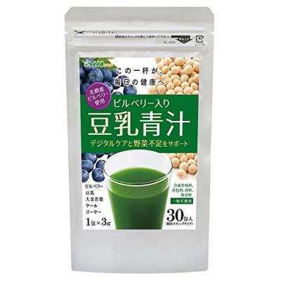 Японский аодзиру с черникой и соевым молоком Seedcoms