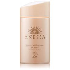 Мягкое солнцезащитное молочко Anessa Perfect Mild Milk UV SPF 50+ PA ++++