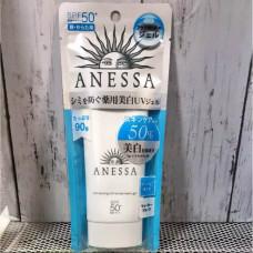 Солнцезащитный гель с отбеливающим эффектом Anessa Whitening UV Gel SPF 50+ PA ++++