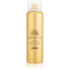 Мощный солнцезащитный спрей для ухода за кожей Anessa Perfect UV Spray Aqua Booster SPF 50+ PA ++++