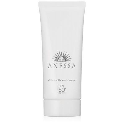 Японский солнцезащитный гель с отбеливающим эффектом Anessa Whitening UV Gel SPF 50+ PA ++++