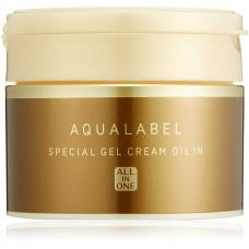 Увлажняющий крем-гель Shiseido Aqua Label c маслами 5 в 1