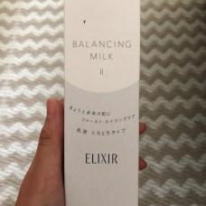 Балансирующее молочко для молодой кожи Elixir Reflet balancing Milk SHISEIDO
