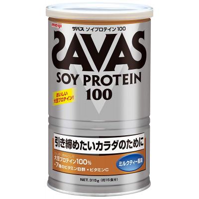 Японский протеин со вкусом молочного чая Soy Protein Savas