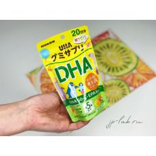DHA-EPA и лютеин - детский комплекс UHA Gummy Supple Kids Study