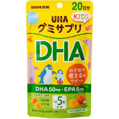 Купить витамины детям с омега-кислотами и лютеином UHA в интернет-магазине JP LAB