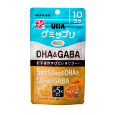 Детские витамины для мозга DHA & GABA UHA