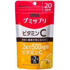 Витамин С в виде желе со вкусом лимона UHA