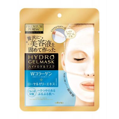 Японская гидрогелиевая маска с коллагеном PREMIUM PUReSA