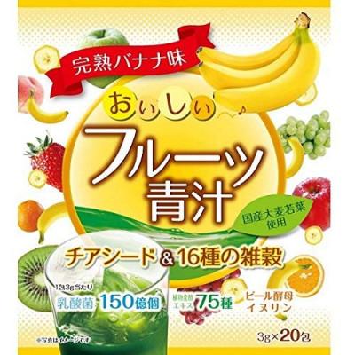 Японский аодзиру из ячменя с семенами чиа и 16 видами злаков со вкусом спелых бананов Yuwa