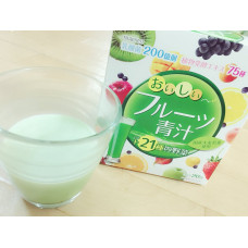 Аодзиру с фруктами Yuwa