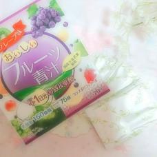Аодзиру с железом и фолиевой кислотой со вкусом фруктов Yuwa