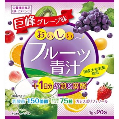 Японский аодзиру с железом и фолиевой кислотой со вкусом фруктов Yuwa